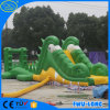 Fait dans la glissière gonflable de Sanbeach de bâche de protection de PVC de la Chine