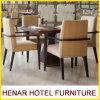 Hospitalidade 5 Star Resort Hotel Móveis Wooden Restaurant Cafe Mesa Cadeira de jantar