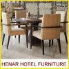 Silla determinada del comedor del restaurante de los muebles de madera del café
