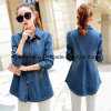 OEM Pretty Wholsale Girls Denim Jacket Women Manteau bon marché