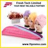 Capa de chuveiro de microfibra para cabelo promocional com logotipo