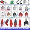 Enchufes des alta temperatura para los calentadores de la mica de la venda de la máquina del moldeo a presión