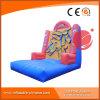 Gioco di salto di sport del giocattolo della parete appiccicosa divertente gonfiabile del Velcro (T7-307)