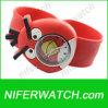 かわいい子供のシリコーン動物の急な水晶腕時計(NFSP283)