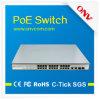 24のポートPoe Switch、10/100m Switch、IEEE802.3af、15.4watts Per Poe Output