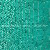 Cuero de los muebles del PVC de la resistencia del rasguño (QDL-FV086)