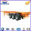 3 Wellen 30/35/40 Tonnen 40FT skelettartiges/Skeleton Behälter-Chassis für Verkauf