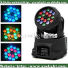 mini LED effet principal mobile de lavage de 18PCS*3W