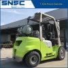 Carrello elevatore verde dell'attrezzatura di movimentazione 3t GPL di Snsc