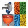Gummifliesen, die Maschine, Gummifliese-Druckerei vulkanisieren