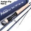 高品質の釣り道具装置9FTのフライフィッシング棒