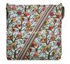 Saco de ombro Eco-Friendly do saco do mensageiro da lona do teste padrão da forma