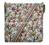 Eco-Friendly patrón de la moda de la lona bolsa de mensajero del bolso de hombro