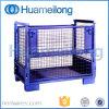 Estanterías de secado plegables del metal del almacén de la jaula del acoplamiento de alambre
