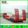 La Chine 80t 2 raye la remorque inférieure de bâti de 4 essieux semi
