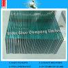 4mm-19mmの冷却装置ドアの卸売のための平らな緩和されたガラスの棚