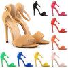Altas sandalias sucintas de los altos talones de las mujeres de Quanlity