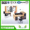 Mesa de escritório lateral do armário de duas pessoas (OD-64)