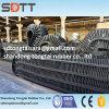 製造業者は直接大きい角度によって波形を付けられる無限のコンベヤーベルトを供給する