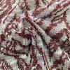 100%Poly, 145GSM. Tela de confeção de malhas da tintura do fio para o vestuário das mulheres