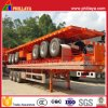 3 Wellen-Plattform-halb LKW-Schlussteil mit Behälter-Verschlüssen