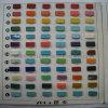 Gráfico de color turquesa
