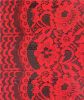 Design floral Lace Fabric para Dresses de Lady, Curtain, Children Clothes