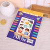 Подгонянное книжное производство детей бумаги искусствоа, творческие книги для малышей