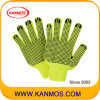 こんにちはVis Flurescent Knitted Industrial Safety Work Gloves (61010TC)