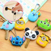 PVC Key Covers de 3D Custom Cartoon Soft