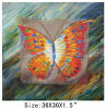 DecorationのためのハンドメイドのBeautiful Abstract Butterfly Oil Painting Canvas