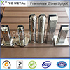 304 316 공단 또는 Mirror Stainless Steel Glass Pool Fence Spigot