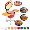 Cocina al aire libre 18 pulgadas del fumador al aire libre de cerámica de parrilla de cerámica del Bbq