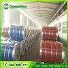 A cor lustrosa elevada do telhado do metal da exportação revestida galvanizou o preço de aço da bobina