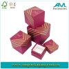 Cadre de empaquetage de collier de cadeau de papier rigide en gros de carton