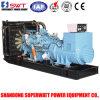 Conjunto de generador diesel accionado por el motor diesel 60Hz 990kw/1238kVA del MTU
