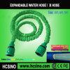 petisco Hose de 25FT Green Expandable com Color Box Packing