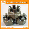 Stainless Steel Hex Slot Nut, Hardwares Fastener Nut, Hex Nut