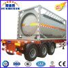 Container van de Tank van het Vervoer ISO van het Koolstofstaal de Vloeibare met Csc