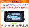 Lecteur DVD de voiture de l'écran tactile LCD DJ8015 8