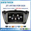 Multimédios audio do carro para a sustentação GPS/DVD/Bt/USB/SWC de Hyundai