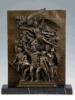 Het Standbeeld van het Cijfer van het Beeldhouwwerk van het brons (hyf-1009)