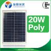 Panneau solaire 20W solaire de Yy des meilleurs prix poly petit pour l'usage à la maison