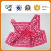 Lenço de seda da garganta do poliéster do algodão da impressão da forma de Digitas (HYS-AF001)