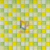 Mosaico di cristallo di colore caldo usato cucina (CFC117)
