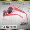 Le caoutchouc mou 2015 lunettes de soleil roses de chevreaux de mode (HCK432)