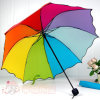 Guarda-chuva de dobramento da Parasol-Flor 3 coloridos novos da forma