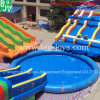 Pool (Mobile Water 공원 013)를 가진 팽창식 Mobile Water Park