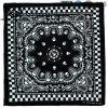綿のHeadwearの粋な100%年のヘッドバンドの骨組ペーズリーのスカーフのバンダナ