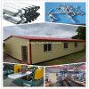 Edificios prefabricados eficientes de la estructura de acero del coste